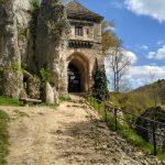 Zamek w Ojcowie, wejście