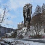 Zamek wPieskowej Skale Zimą, Maczuga Herkulesa