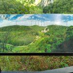 Widok Na panorame Doliny Prądnika