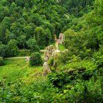 Brama Krakowska widok ze szlaku zielonego