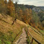 Dolina Prądnika Ojców, Jesień
