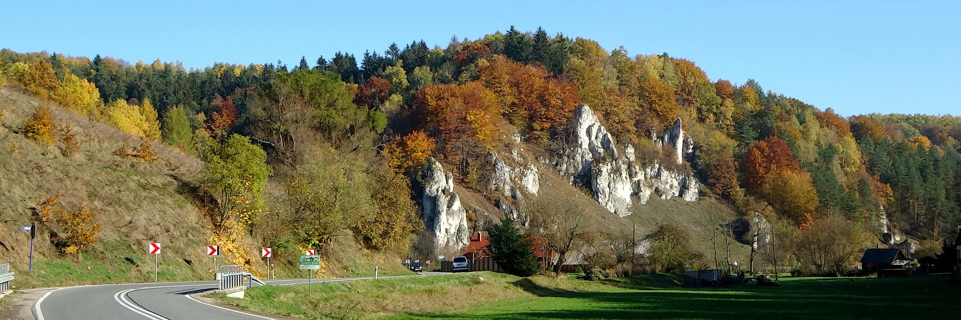 Ojców Panorama Dolina Prądnika